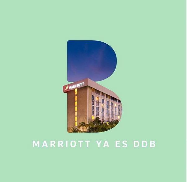 Ejemplo de DDB Colombia: convenio con la cadena de hoteles Marriot