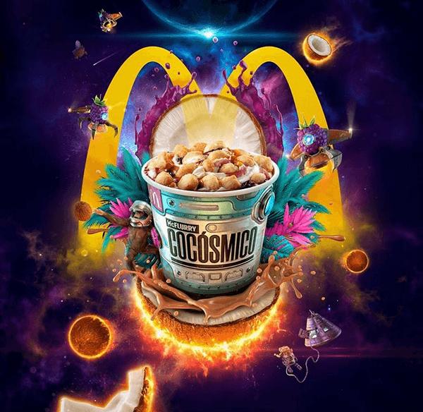 Ejemplo de de DDB Colombia: publicidad para McDonald's