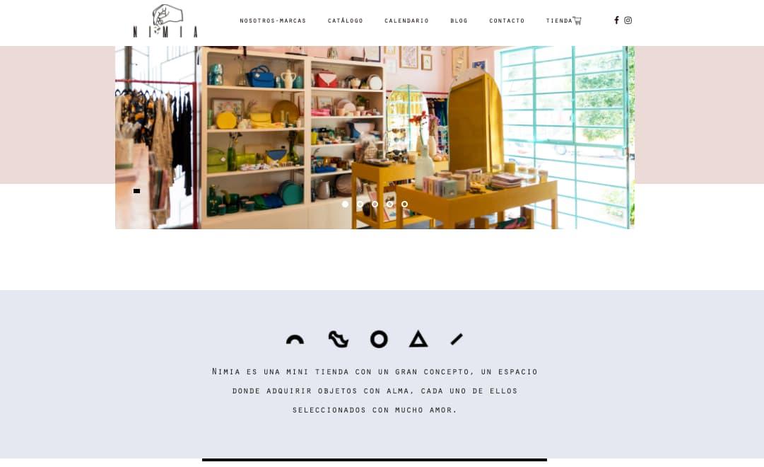 Ejemplo de descripción de una empresa: Nimia