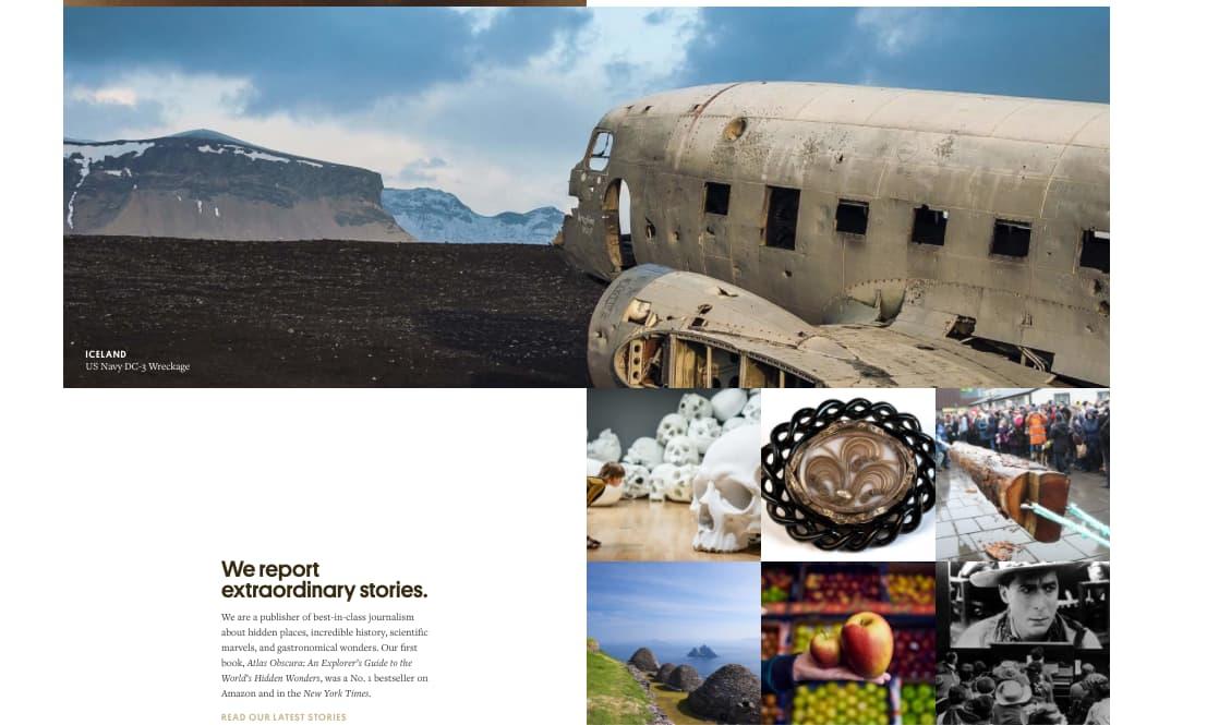 Atlas Obscura, revista de historias extraordinarias
