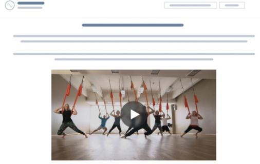 Ejemplo de prueba adaptativa con HubSpot: videos