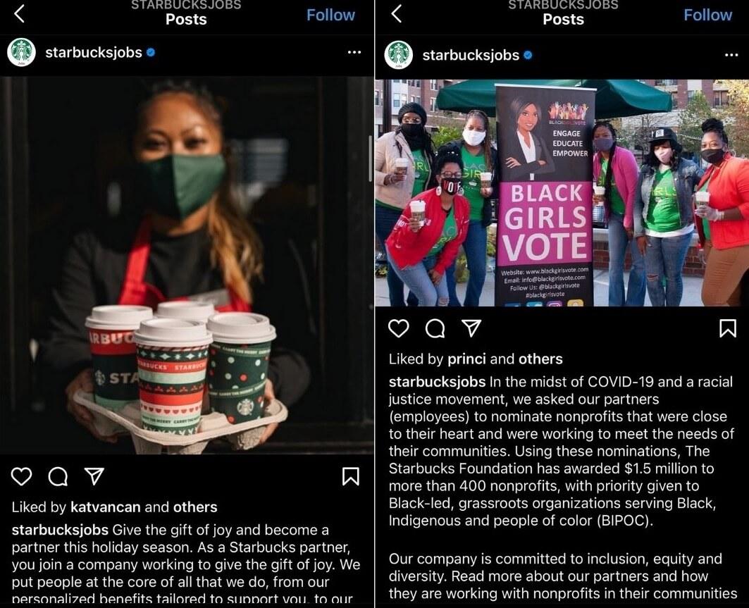Employer branding: ejemplo de Starbucks