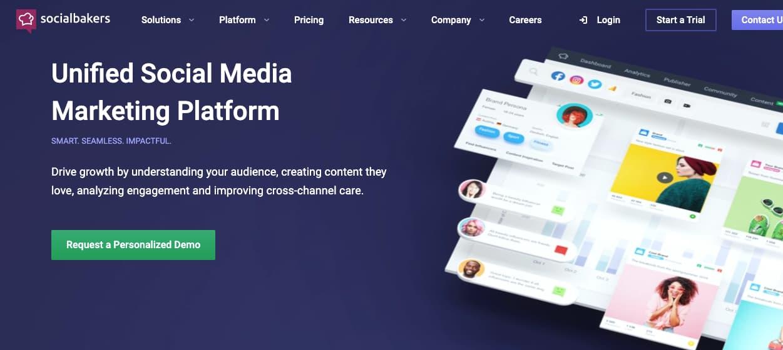 Software para mejorar y medir el engagement: Socialbakers