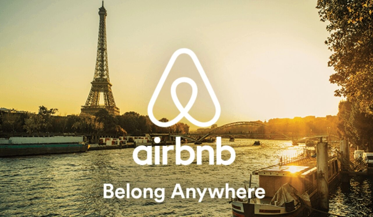 Ejemplo de eslogan famoso: Airbnb