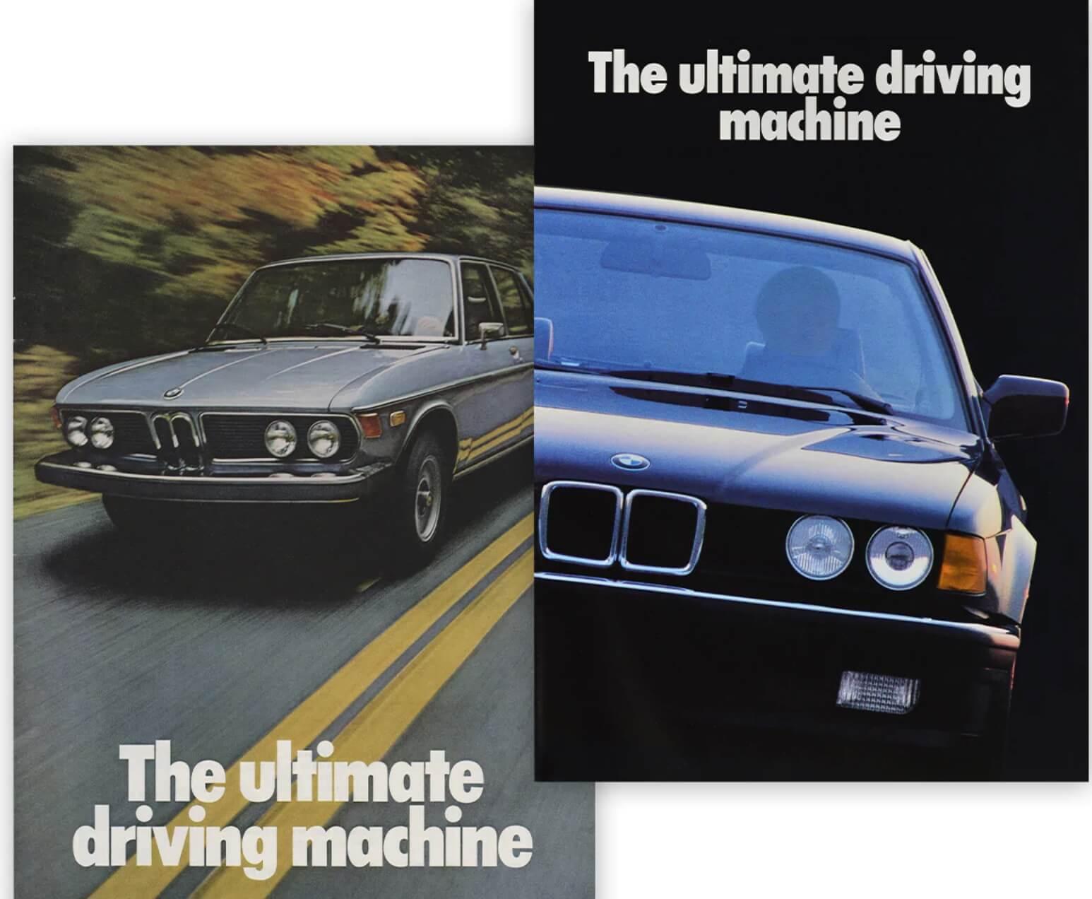 BMW, eslogan famoso