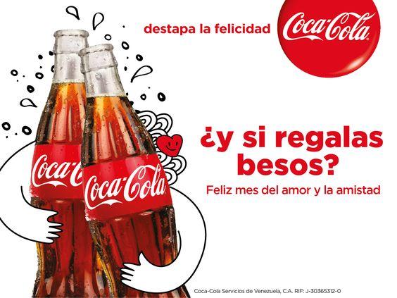 Eslogan creativo de Coca-Cola: destapa la felicidad