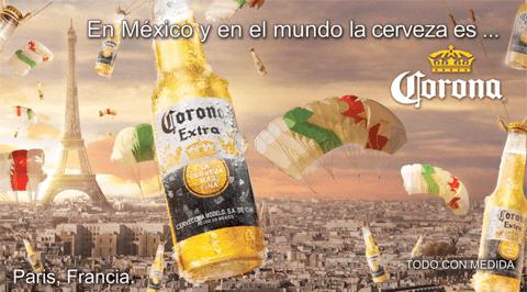 Cerveza Corona, eslogan creativo