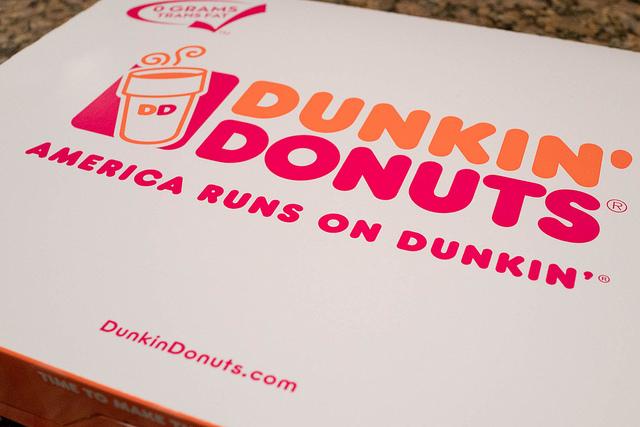 Eslogan creativo de Donkin' Donuts