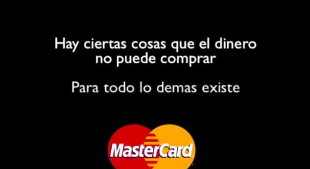 Eslogan creativo de Mastercard