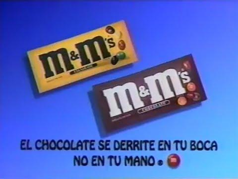 M&M, ejemplo de producto con eslogan