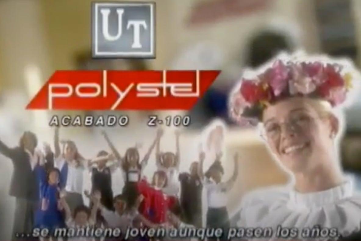 Polystel, ejemplo de eslogan famoso