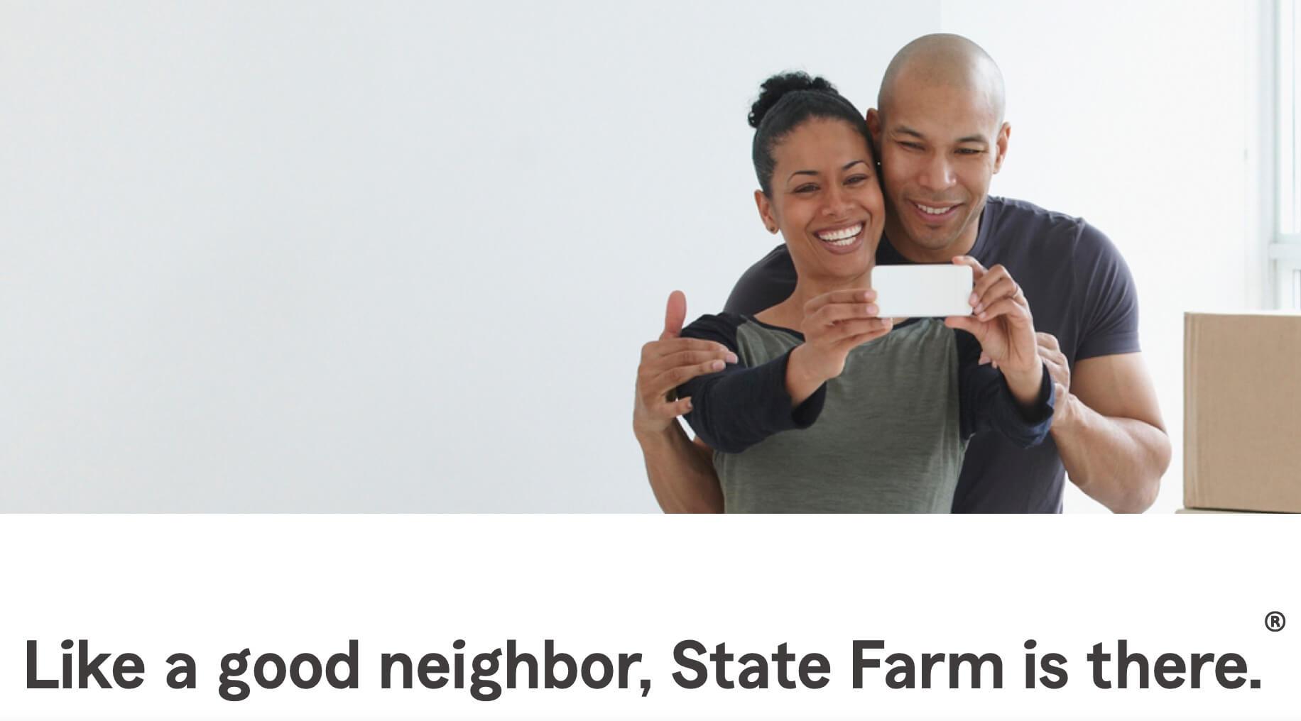 State Farm, ejemplo de eslogan famoso