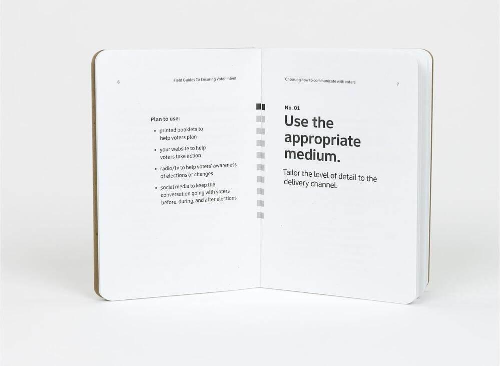 Ideas de diseño UX: resideño de boleta electoral