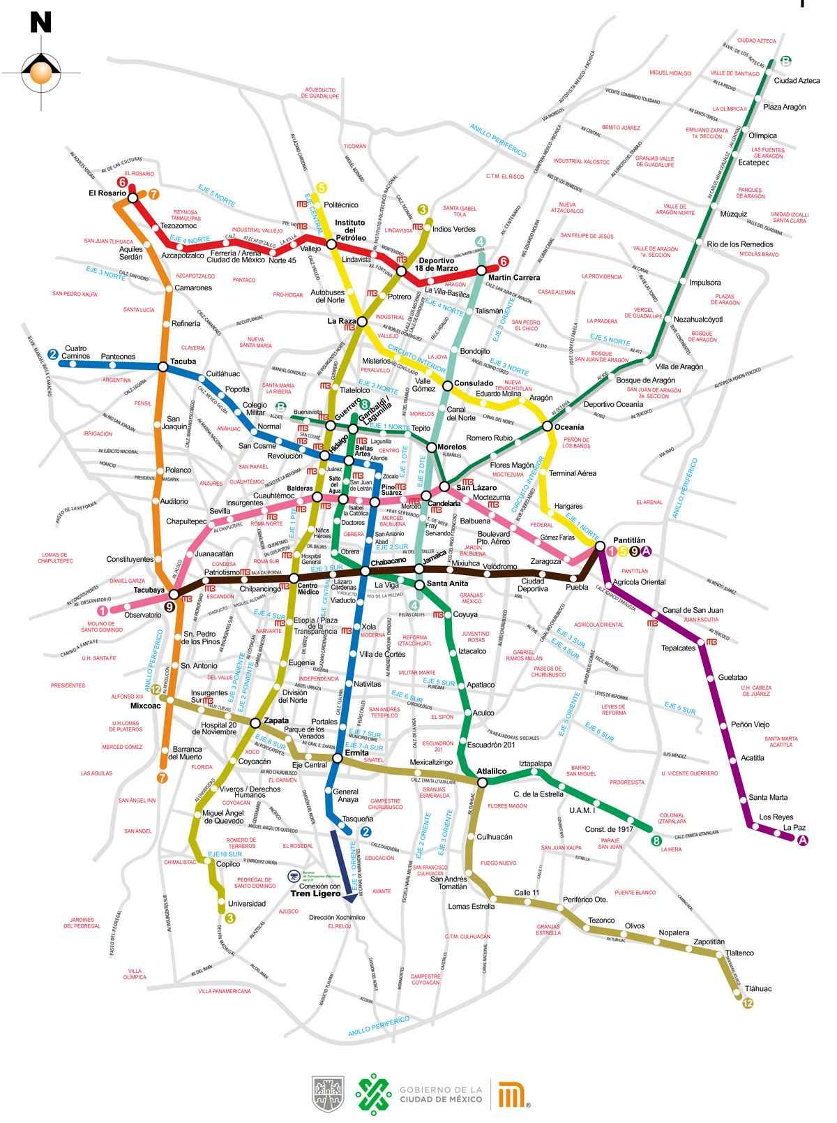 Experiencia de usuario: mapa del metro de la Ciudad de México