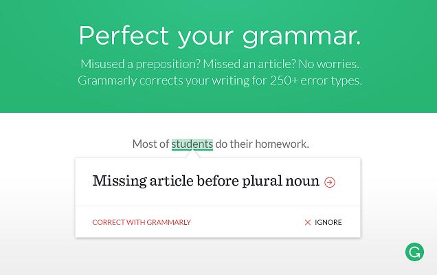 Grammarly: extensión para Gmail