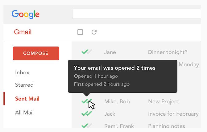 Mailtrack: extensión para Gmail