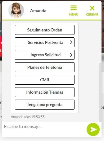 Chatbot en el autoservicio al cliente de Fallabella