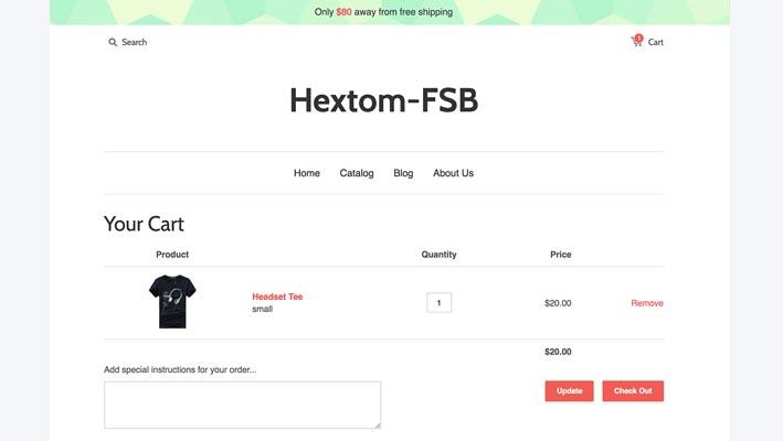 App Free Shipping Bar para tiendas de Shopify
