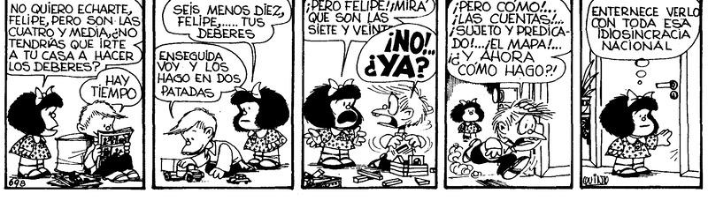 Control de procesos en la gestión empresarial, según Mafalda