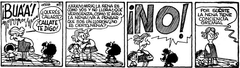 Cómo ser coherente en la gestión empresarial, según Mafalda