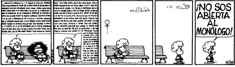 La comunicación en la gestión empresarial, según Mafalda