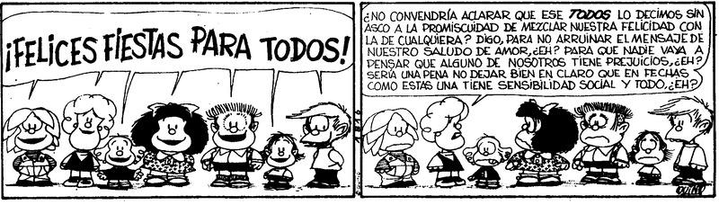 Cuándo es necesario aclarar un mensaje en la gestión empresarial, según Mafalda