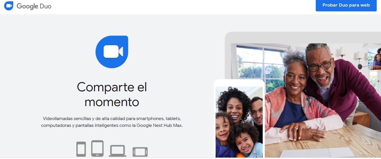 Herramientas para tu reunión navideña en línea: Google Duo
