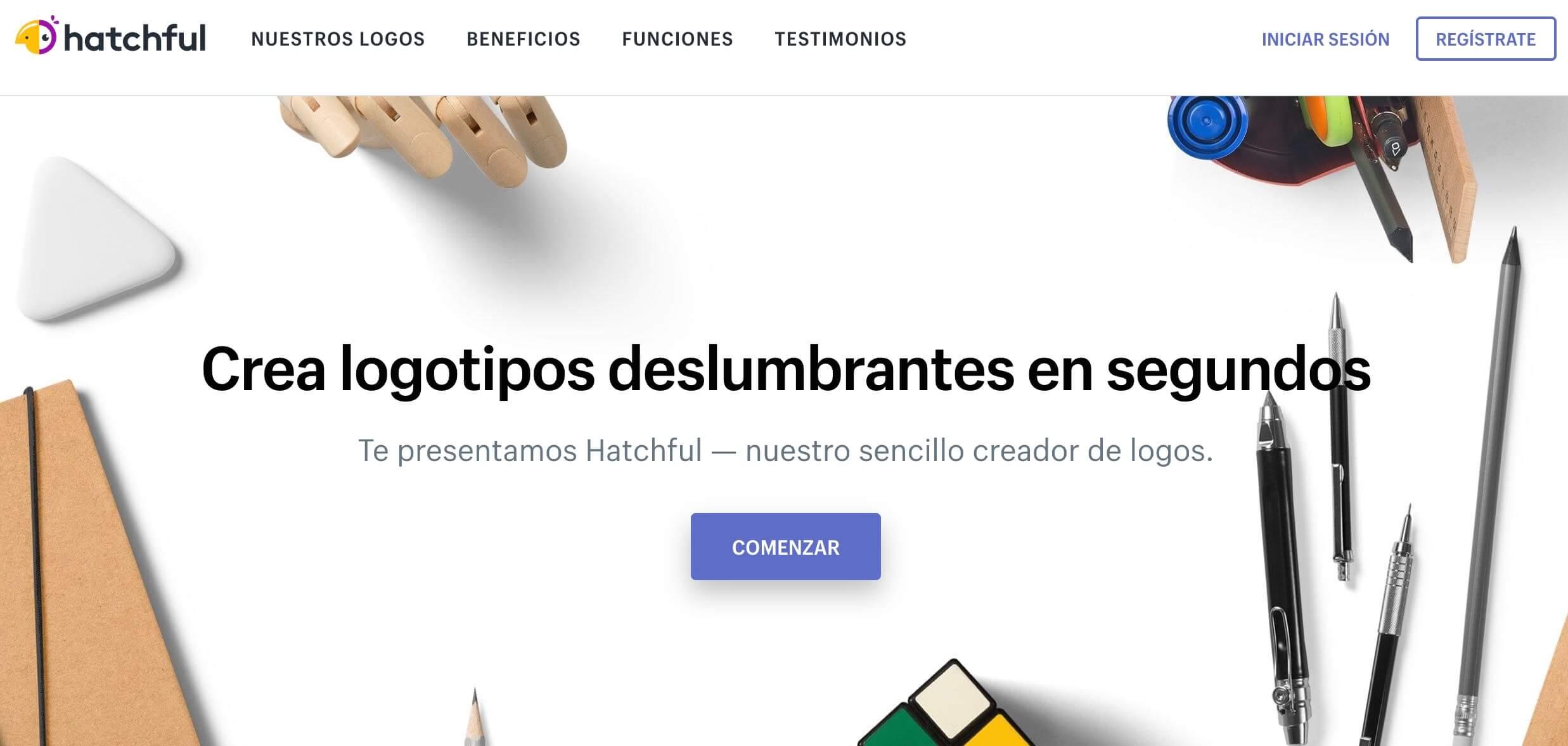 Hatchful, creador de logotipos gratuito