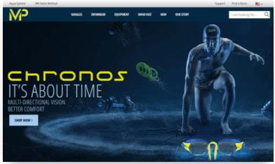 Blog de Michael Phelps hecho con Joomla, página para crear blogs