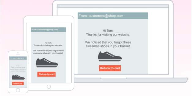 Keptify, software para reducir el abandono del carrito de compra