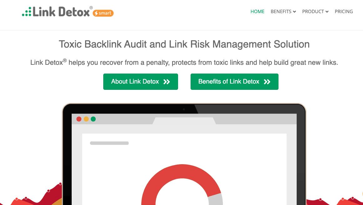 Link Detox, suite de herramientas para link building