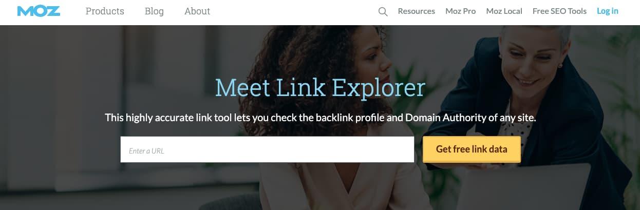 Moz Link Explorer, herramienta de link building