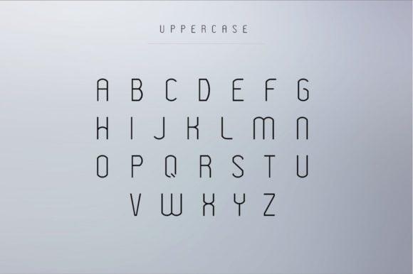 Tipografía moderna y gratuita para logos: Modeka