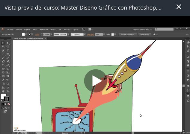 Los mejores cursos de diseño gráfico: master de diseño gráfico con Photoshop
