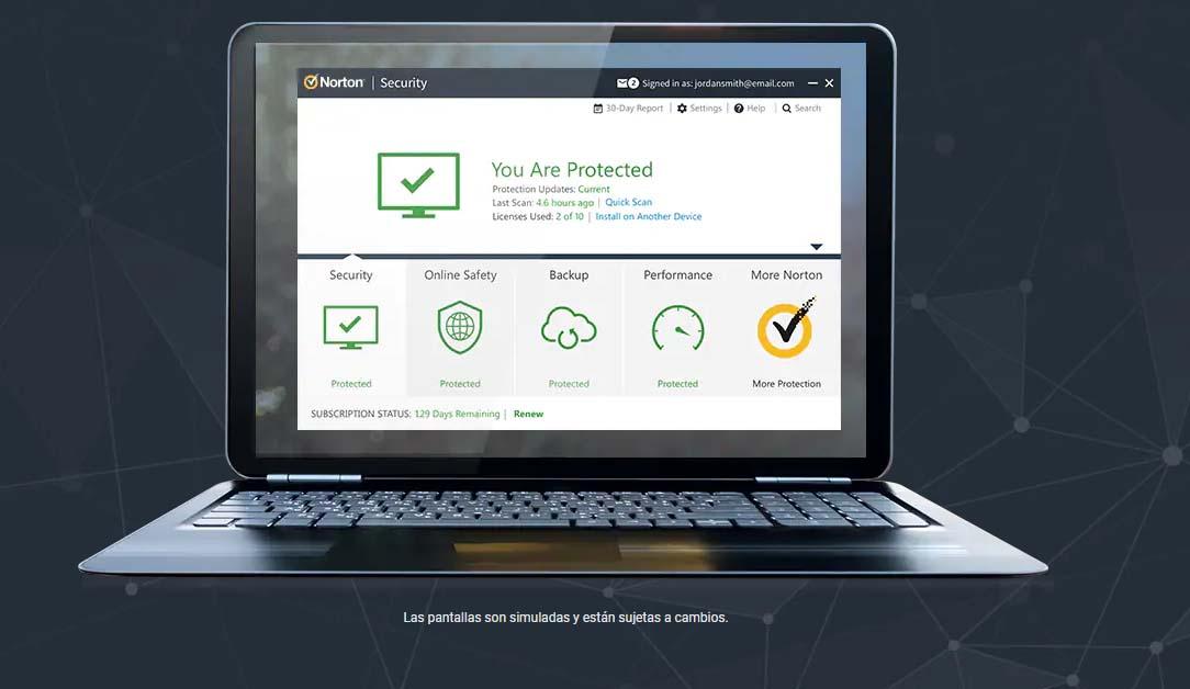 Antivirus para empresas: Norton