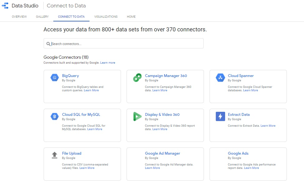 Herramientas para automatizar informes: Google Data Studio
