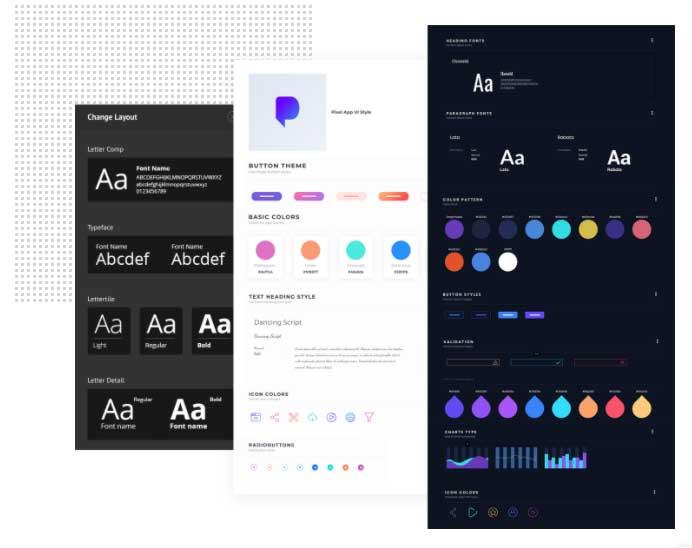 Ejemplo de mejores herramientas para diseño web en 2022: Mockflow