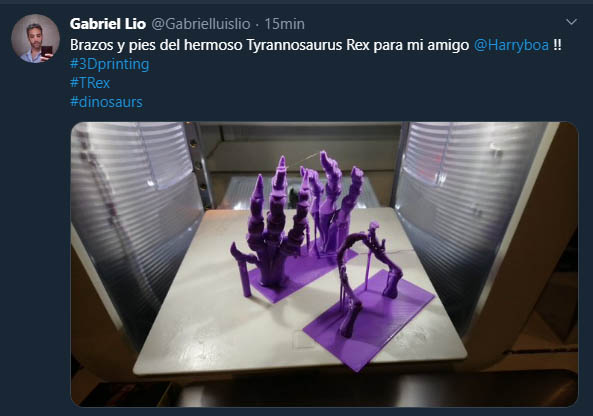 Ejemplos de prosumidores: Impresoras 3D