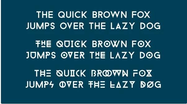 Tipografía moderna gratuita para logotipos: Baron