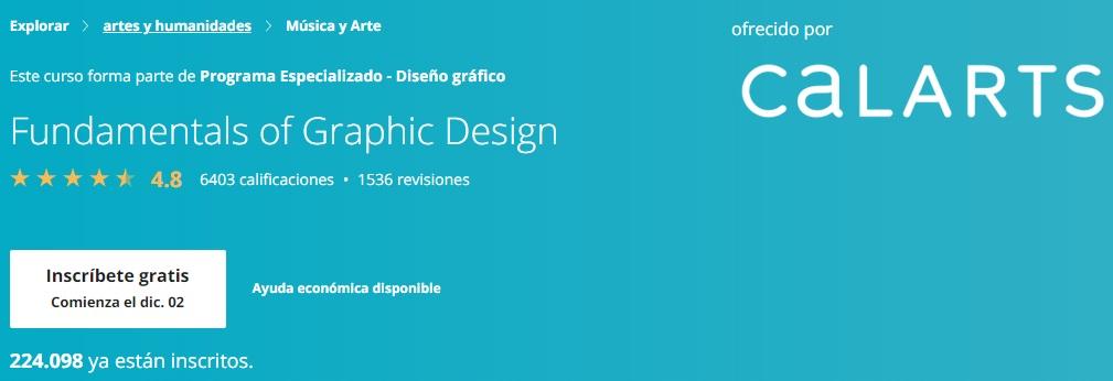 Curso de diseño gráfico de Calarts