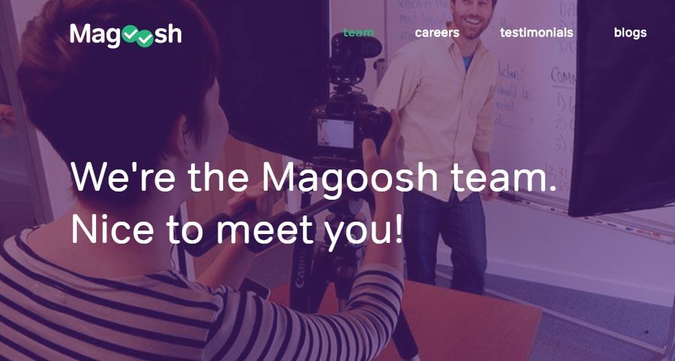 Ejemplos de éxito de encuestas NPS: Magoosh