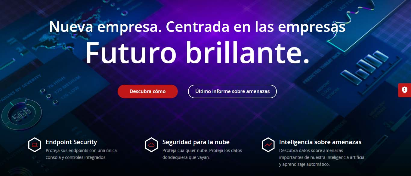 Antivirus para empresas: McAfee