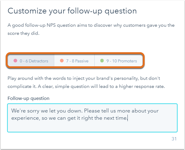 Seguimiento de encuestas NPS con HubSpot