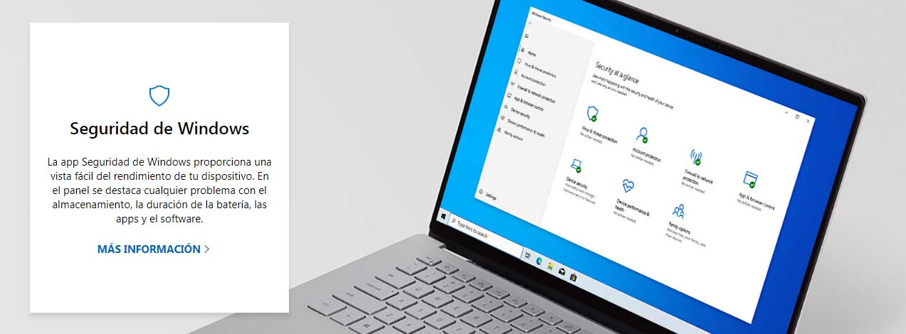 Antivirus para empresas: Windows Defender