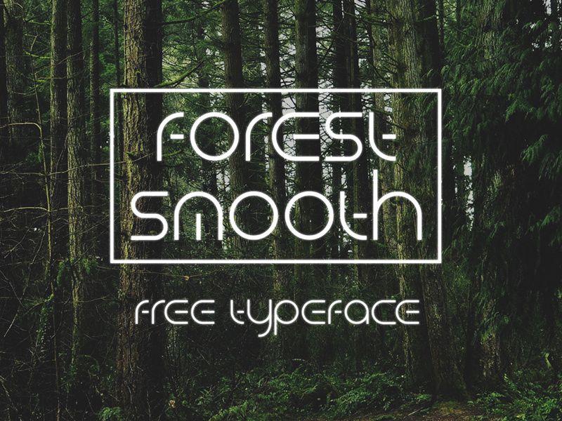 Tipografía moderna para logos: Forest Smooth
