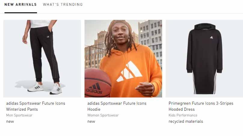 Ejemplos de prosumidores: Adidas