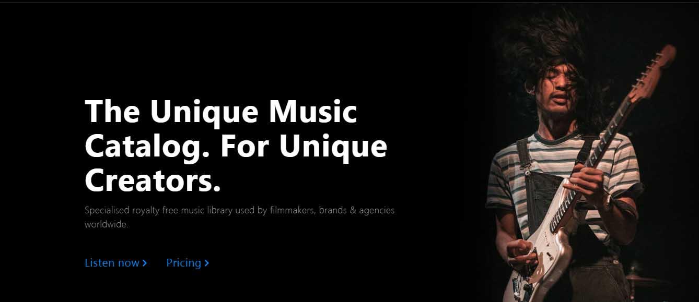 Bancos de música libre de derechos para videos: Pyramidtracks