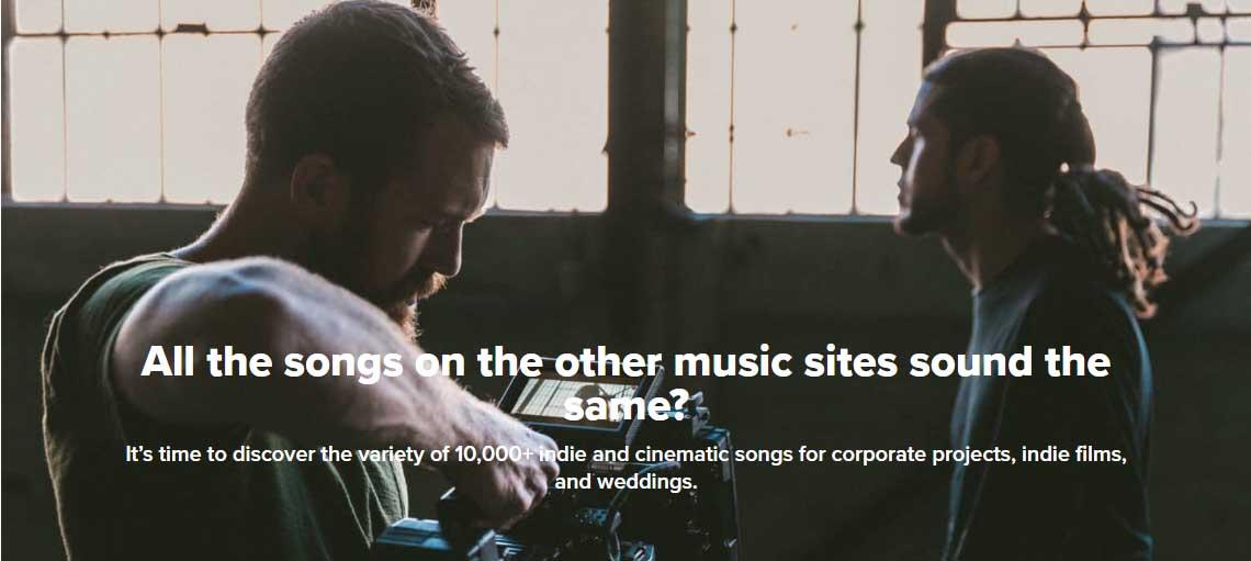 Bancos de música libre de derechos para videos: FyrFly
