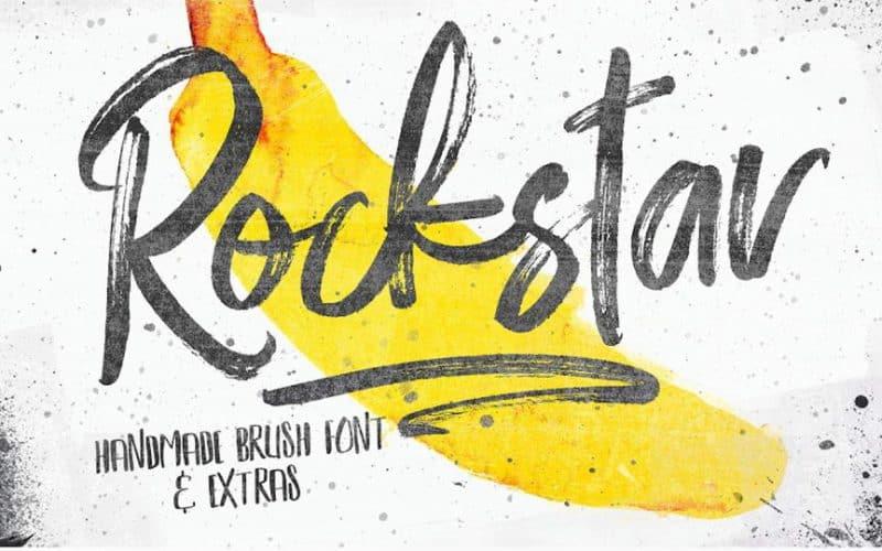 Tipografía moderna gratis para logos: Rockstar