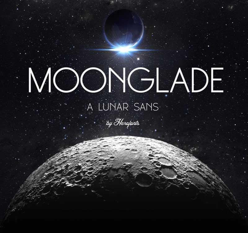Tipografía moderna para logos: Moonglade
